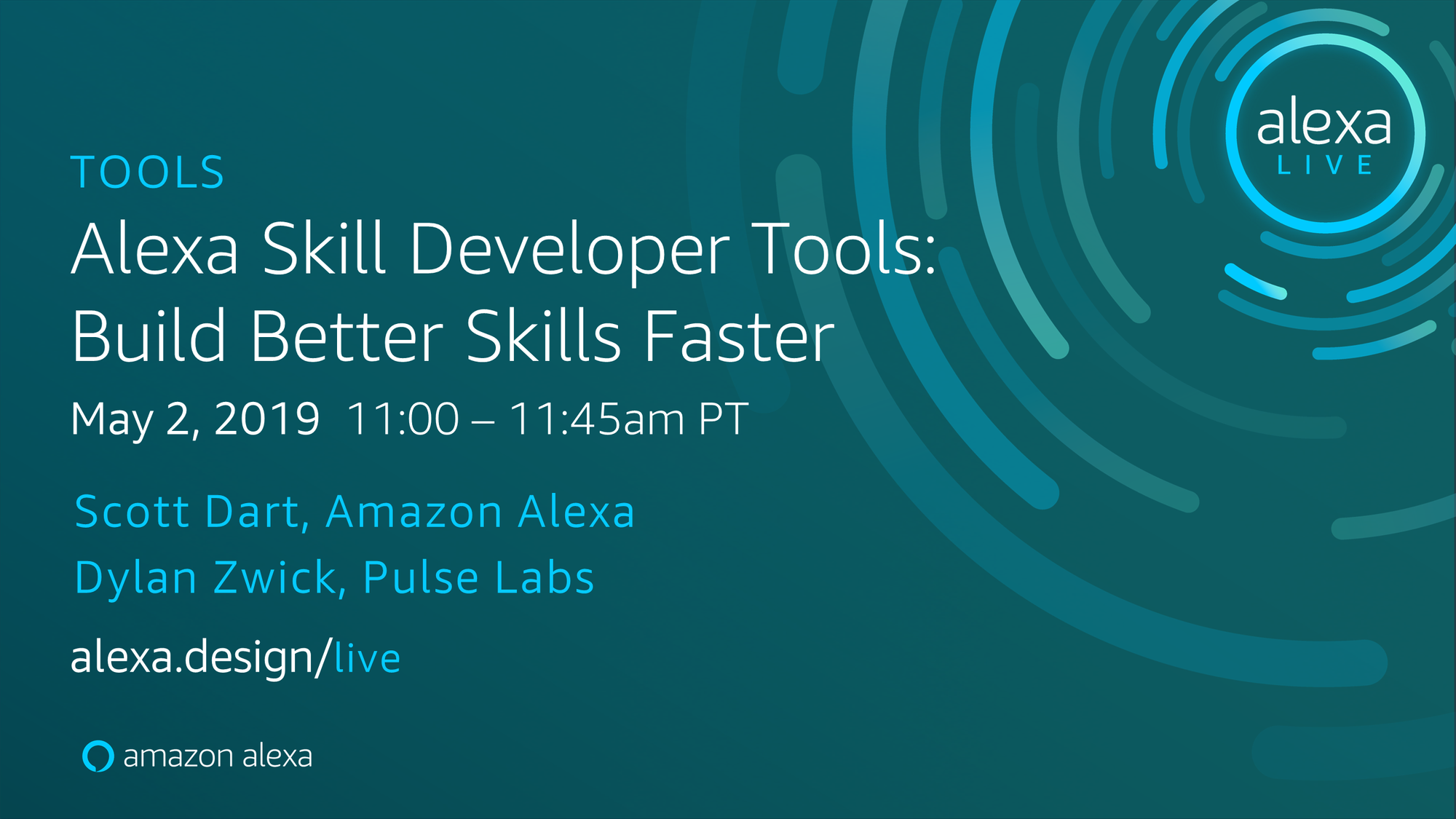 Pulse Labs at Alexa Live on May 2nd!