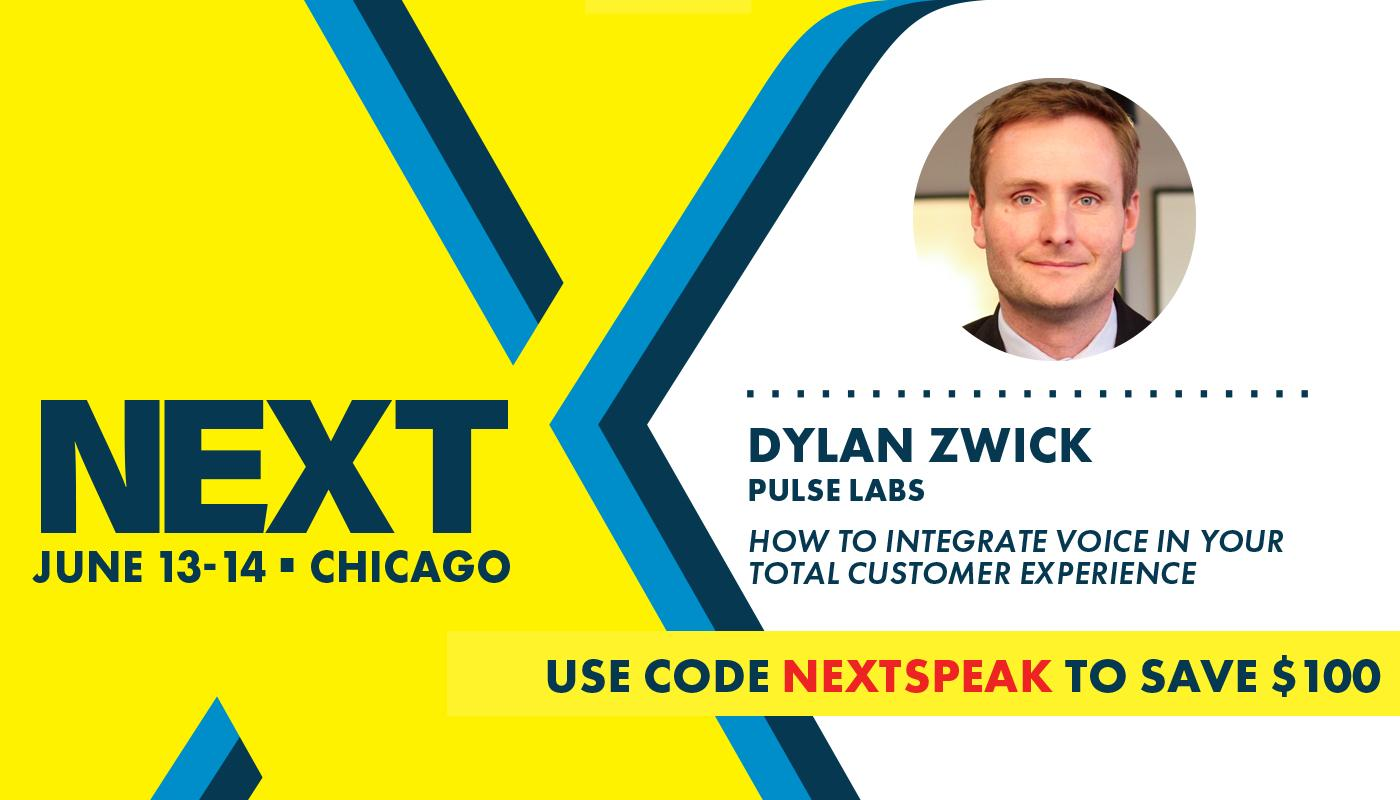 Pulse Labs Co-Founder and CPO Dylan Zwick to Present at NEXT 2019 in Chicago
